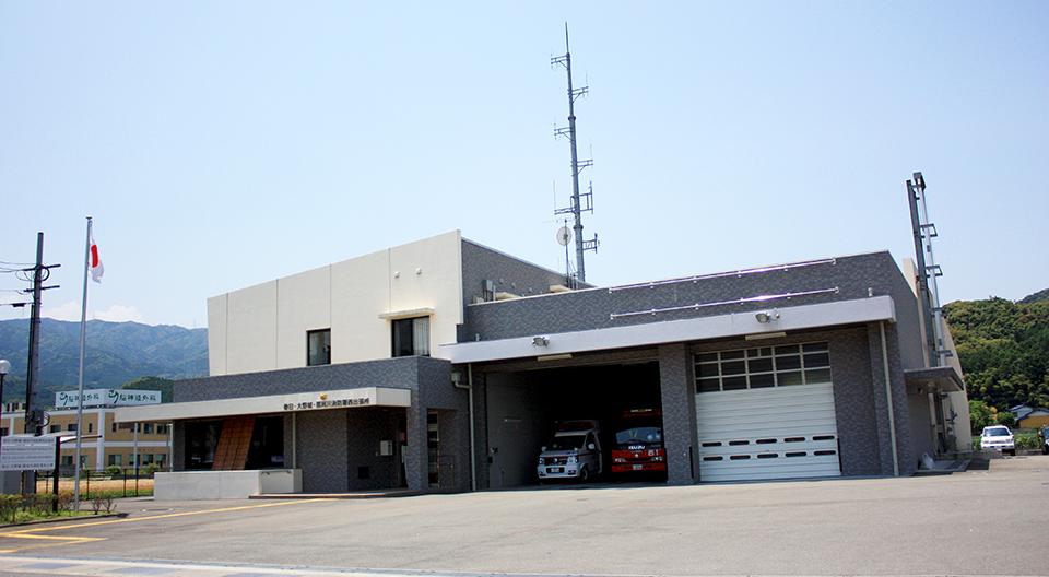 春日・大野城・那珂川消防署西出張所新築電気設備工事(平成19年3月竣工)