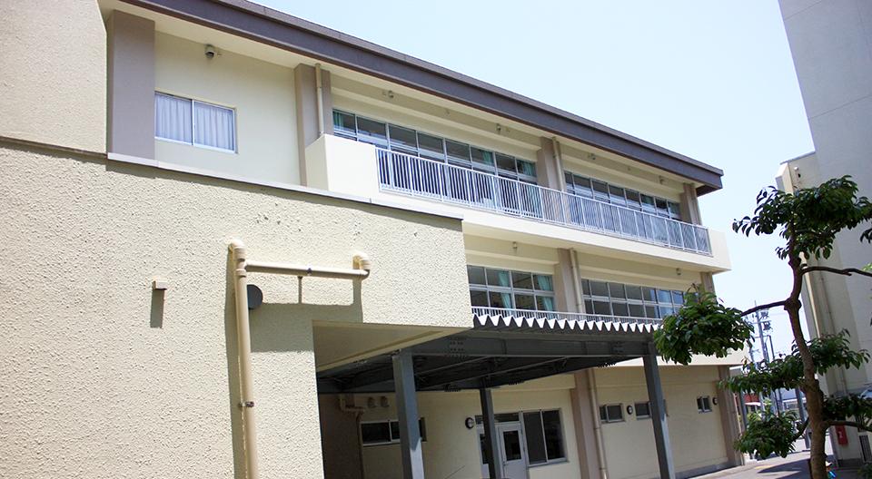 安徳北小学校校舎・給食棟増築電気設備工事(平成22年度3月竣工)